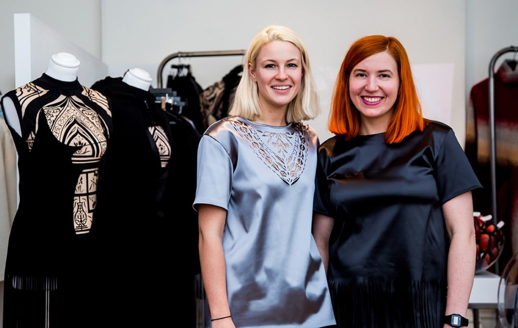 Rebecca Morter & Gemma Vanson, founders & creators of REIN London